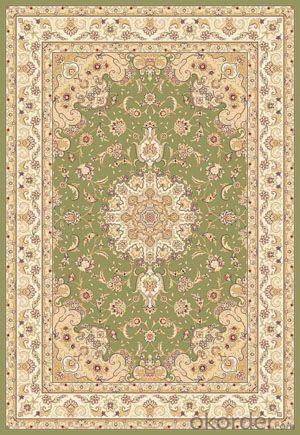 Viscose Carpet Wilton Machine Modern Design Washable Floor Rug