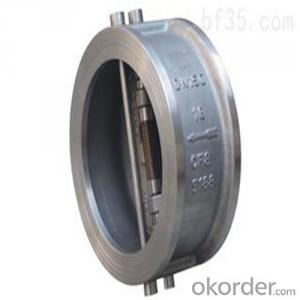 Swing Check Valve Wafer Type Double Disc DN   500 mm