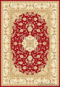 Viscose Rug Wilton Machine Modern Persian Washable Area Rug