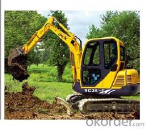 Crawler Excavator 14tons and optional Cummins engine