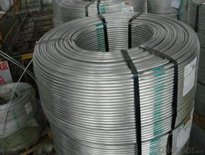 Aluminium Master Alloys AlTi5B1/AlTi3B1 Coils with Coil Rod Ingot