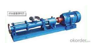 Single Ccrew Pump G-type Single Ccrew Pump (Stainless Steel Shaft)