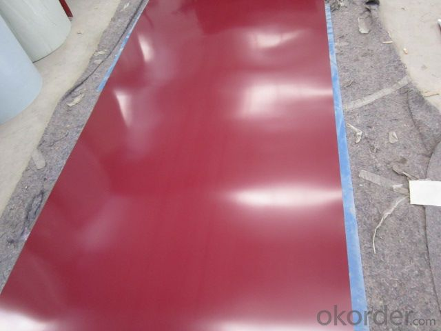 Corrugated Pre-painted Galvanized Steel Sheet