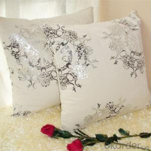 Square Cushion with embroidery or printed design