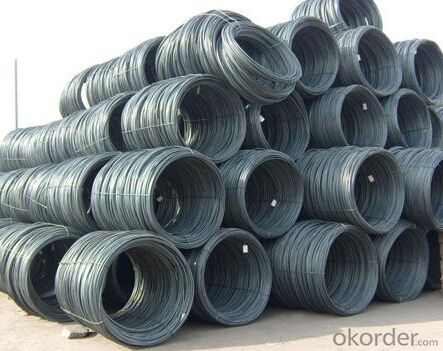 Hot Rolled Wire Rod for Q195/235, SAE1006-1018B