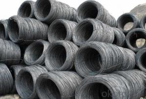 Hot Rolled Steel Wire Rod with Good Quality with The Size 12mm