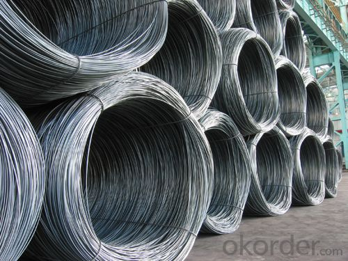 Hot Rolled Steel Wire Rod with Good Quality with The Size 10mm