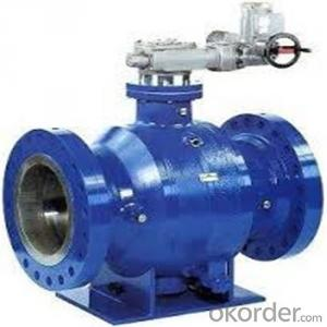 High-performace pipeline ball valve  DN3 inch