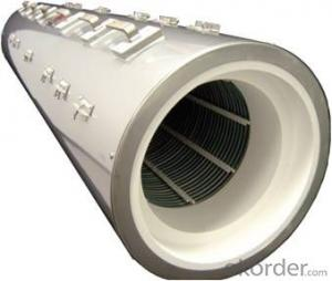 Full-cylindrcal Ceramic Fiber Heaters for Industry