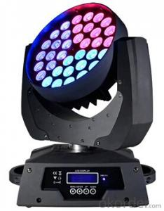 Led Moving Head Beam Light for Stage Show with Model M3610Z