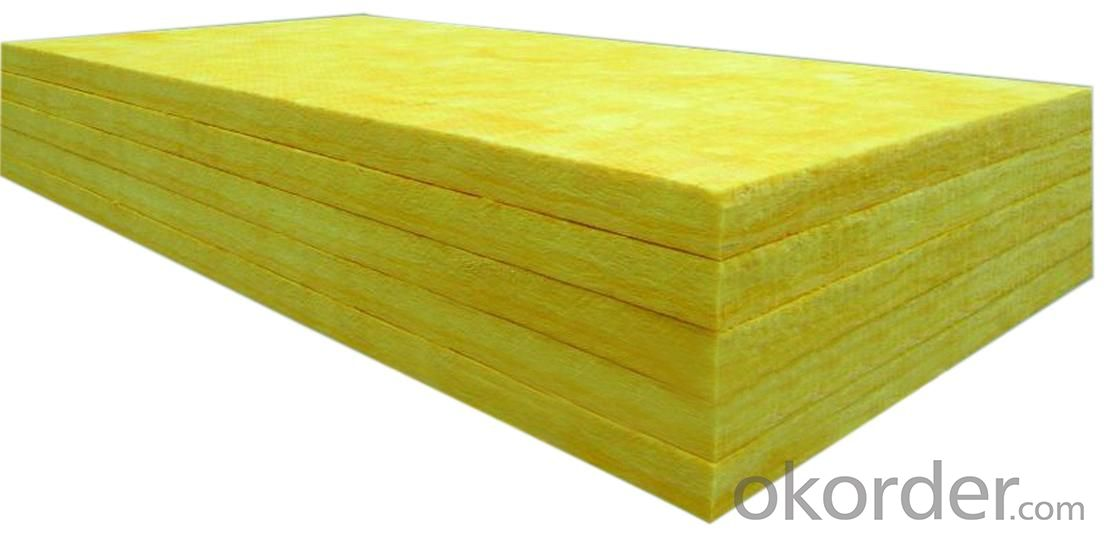 High Quality Fiberglass Insulation / Glass Wool Insulation for Roof in Construction
