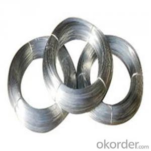 Galvanized Iron Wire /Binding Wire Using in Making Welded Mesh
