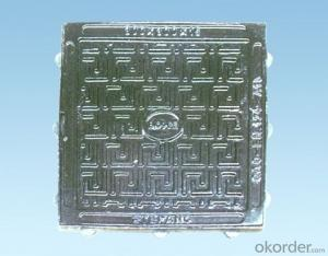 Cast Iron Manhole Cover High Quality China Manufacturer