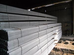 Steel Angle Beams for Structure of Construction