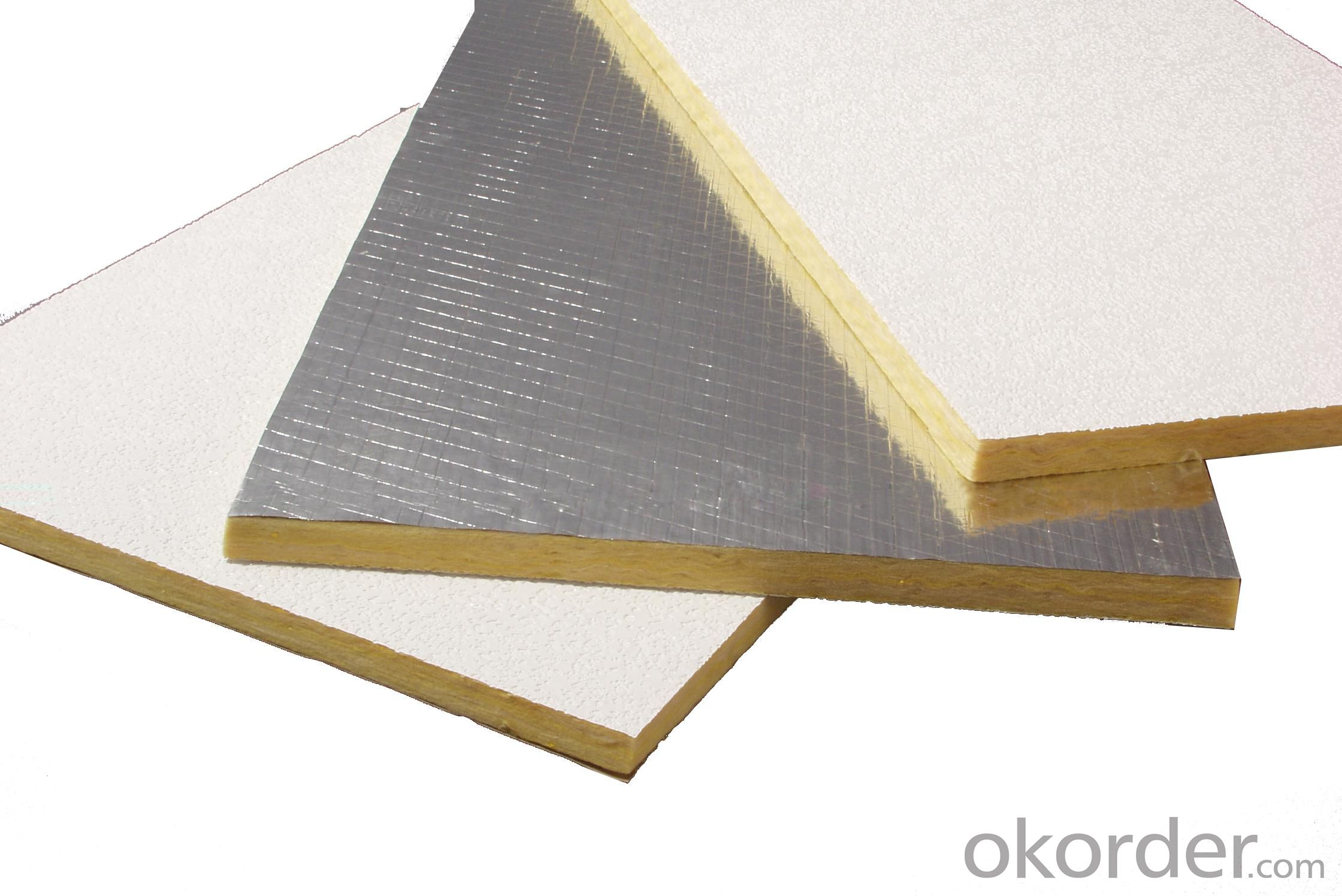Thermal Insulation And fireproof thermal conductivity glass wool insulation glass wool