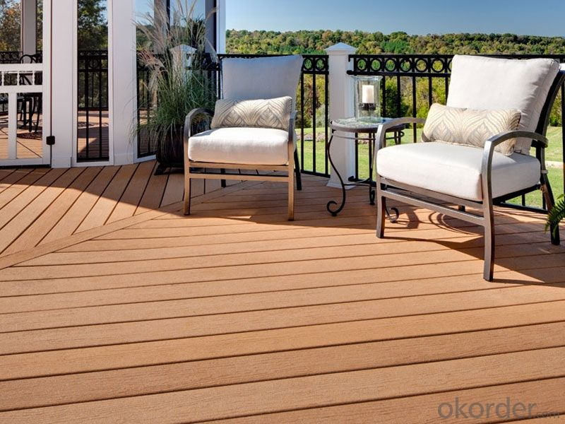 Out Decking/Composite Lumber/2015 Hot Sale