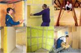 Manto de Vidrio Lana de Vidrio Materiales de Construcción de Lana de Vidrio con CE