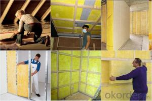 Glass Blanket Glass Wool Building Materials With CE
