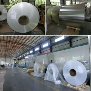 Aluminum Foil Rolls Epoxy Coating 0.06mm 1100H22