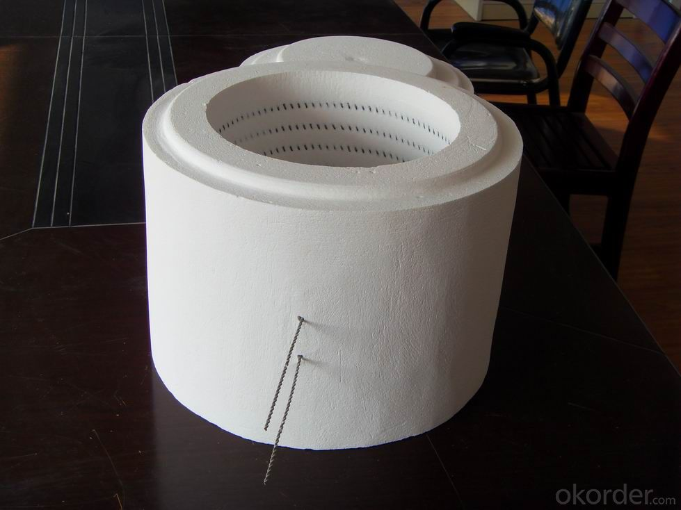 ceramic Fiber Tube Heaters Used in Refractory Field