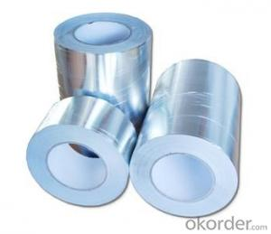 Aluminum Foil Tape No Printing Design and Single Sided Adhesive Side Fireproof