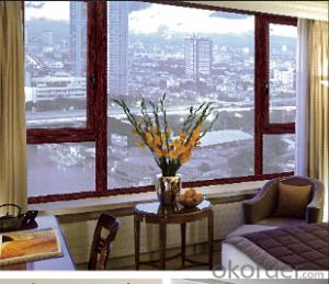 Aluminum Casement Window Double Glazed windows