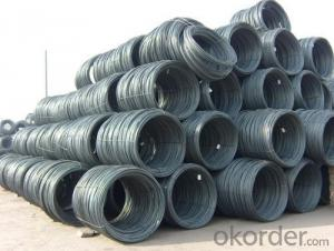 Hot Rolled Steel Wire Rod with Good Quality with The Size 8mm