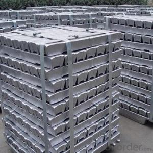 Aluminium Ingot with High Purity Virgin from China
