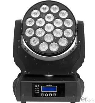 Led Move Head Beam Light for Stage Show with Model B1912Z
