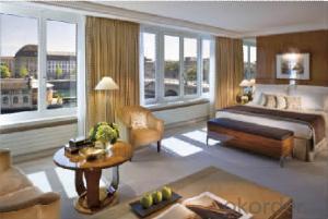 Aluminum Casement Window Double Glazed windows