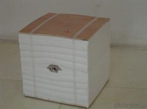 High Pure Heat Insulation Ceramic Fiber Module STD