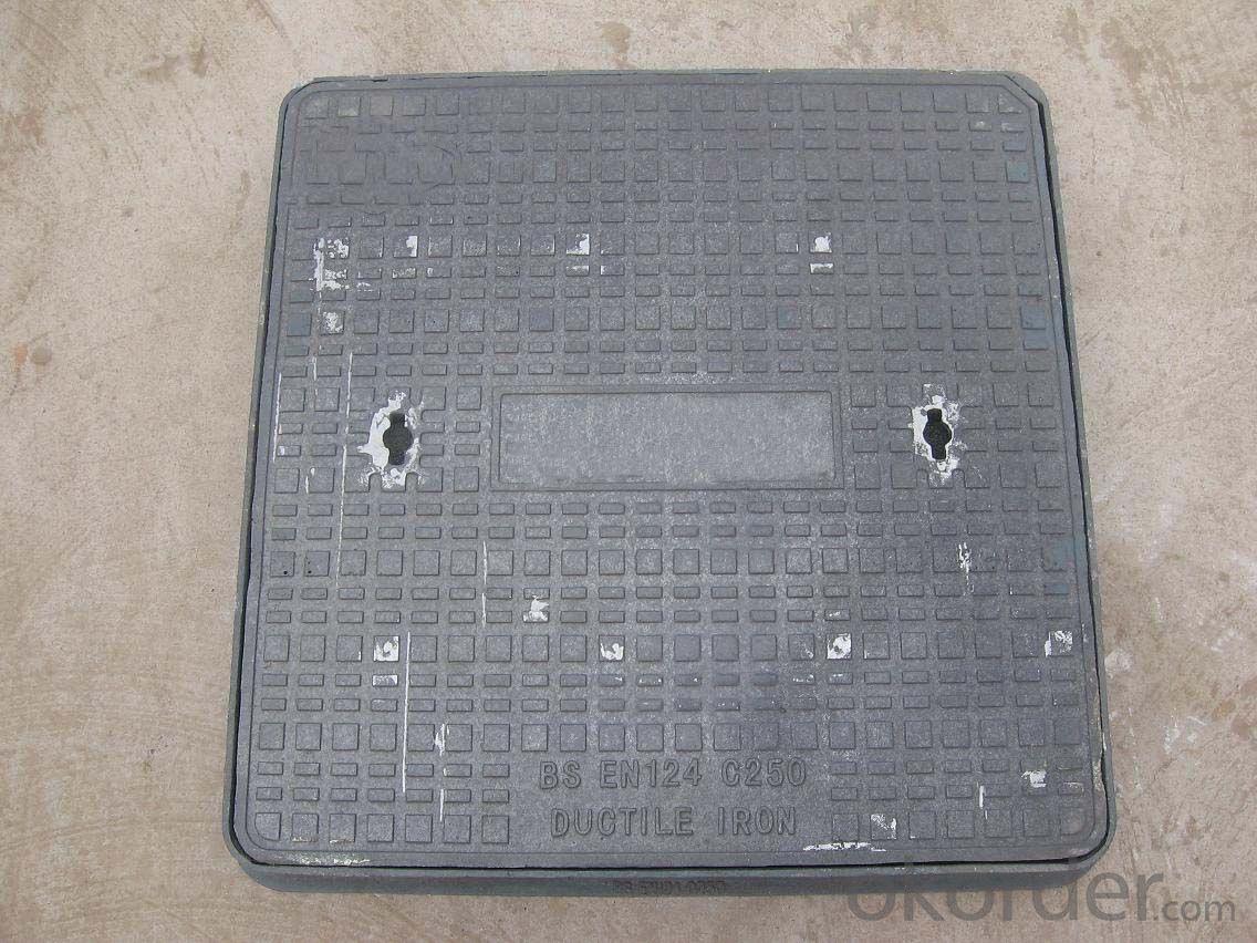 Manhole Cover Precision Casting Ductile Cast Iron