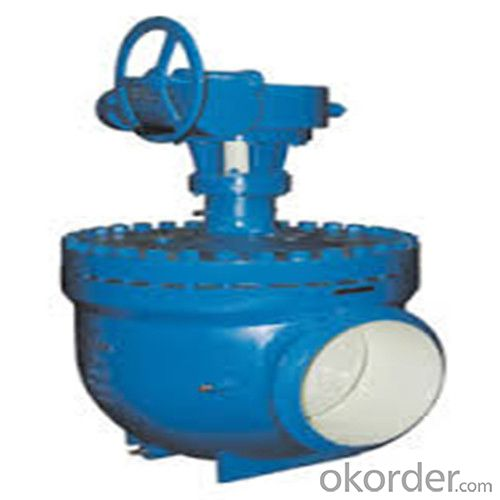 High-performace pipeline ball valve DN 4 inch