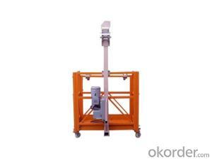 ZLP250 9.6 m/min Safe Suspended Working Platform for Capacity 250kg
