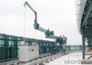 Automated CDGC Rail Mounted Window Cleaning Platform Gondola with 9.0m / min