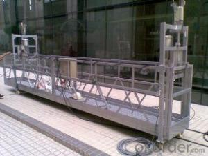 380V 50Hz Motor Moveable End Stirrup Suspended Access Platform