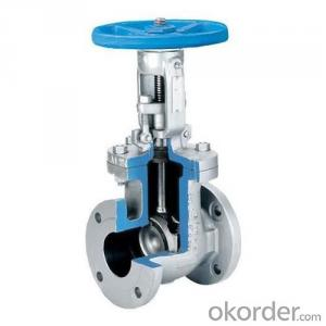 Gate Valve DN350 Non-rising BS5163 Made in China