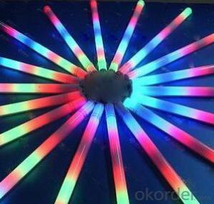 LED Rainbow Tube Light for Inside or Outside Wall with Model RL-LW0012