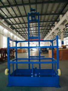 ZLP250 9.6 m/min Safe Suspended Working Platform for Capacity 250kg