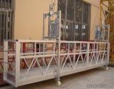 Plataforma de trabajo suspendida con estribos con extremos móviles ZLP630 ZLP800 ZLP1000