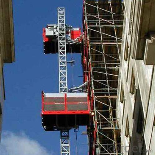 Construction Hoist SC320/320 Lifting Machine