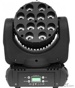 Led Moving Head Wash Light for Stage Show with Model MB1210B