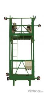 ZLT600 Suspended Elevators Installation Platform with Speed 8 - 10 m/min
