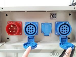 Suspended Platform Parts , Electrical Control Box For Suspended Platform
