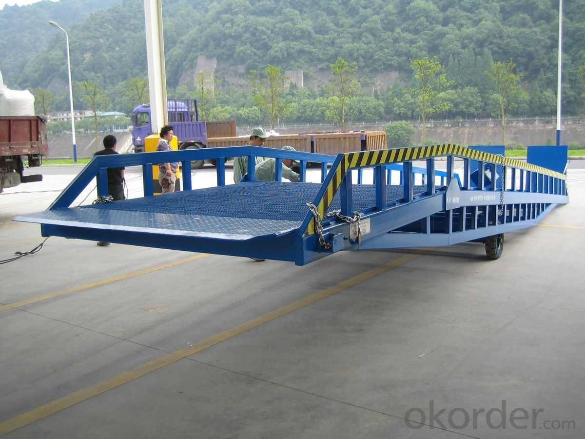 DCQY 10 - 0.8 Hydraulic Dock Leveler Equipment with Rated Load 10t