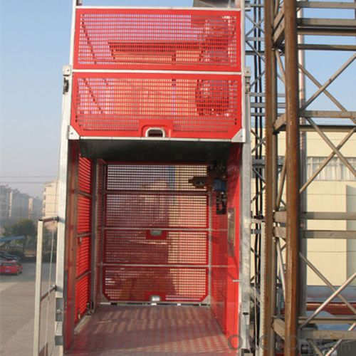 Construction Hoist SC150D,Electric Parts from World Renowned Manufactures such as Schneider, Siemens, and LG
