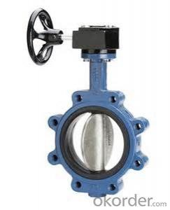 Butterfly Valve Turbine Type DN700 with Hand Wheel