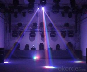 LED Quadrate Moving Head Beam Light for Stage Show with Model HXY-Q4010