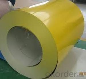 Prepainted Steel Coil Without Anti-Dumping