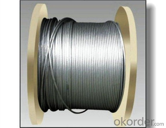 Concentric overhead conducting wire JL Aluminum stranded wire